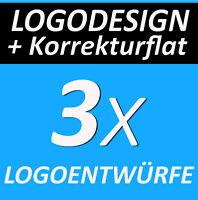 LOGOFLATRATE 3x Logovorschläge Verein Logo Club Logodesign + KORREKTURFLATRATE