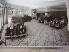 1935 CHRYSLER PLYMOUTH SHOWROOM    11 X 17  PHOTO   PICTURE