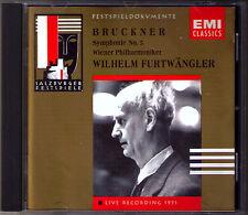 Wilhelm FURTWÄNGLER BRUCKNER Symphony No.5 Salzburg Festival 1951 FURTWANGLER CD