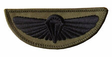 22 SAS Special Air Service Parachute Wings Badge Patch Halo Military