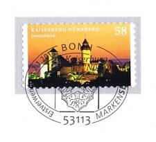 BRD 2013: Kaiserburg Nürnberg! Selbstklebende Nr. 2978 mit Bonner Stempel! 1A