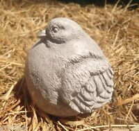 Latex only fat bird mold plaster concrete casting garden mould