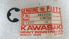 Kawasaki NOS NEW  482J0100 Circlip 10mm A1 A7 EL EX C2 F3 F4 F5 F6 F7 1966-2017