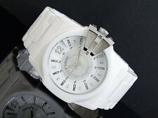 DIESEL MEN'S COLLECTION CERAMIC WHITE RENOVATION WATCH DZ1515