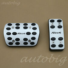 AT Aluminium Foot Pedal Gas Brake Accelerator FOR Ford Focus 2011-2015 Automatic