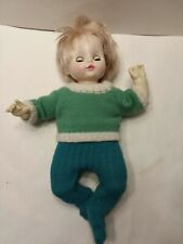 1982 Ideal CBS Inc. Crier Doll Sweater Outfit Sleepy Eyes