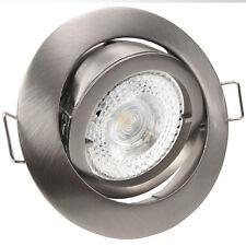 Einbauleuchten LED 230V 3,3W=40W SMD Decken Spots Hochvolt x-mal Set PREMIO