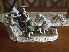German china china coach and four horses