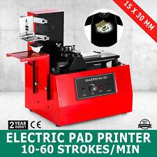 ELECTRIC PAD PRINTER PRINTING MACHINE T-SHIRT SCREEN PRINTING INKPRINT PVC MUG