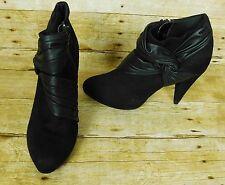 Fioni Woman Ankle Boots Size 9 Black