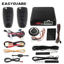 EASYGUARD smart key PKE car alarm system remote auto start push button starter