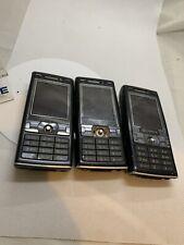 3 x Faulty Sony Ericsson K800i Black Smartphone