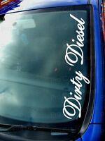 500mm (50cm) Large Dirty Diesel Sticker Decal Graphic JDM DUB VW EURO FUNNY CAR