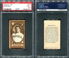 1912 C-46 IMPERIAL TOBACCO C46 #14 FRED BURCHELL PSA 5.5 (9422)