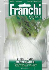 Franchi Seeds Florence Fennel Finocchio Montebianco seed