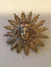 Beautiful Antique French Ormolu Clock Pendulum Caryatid Face Star