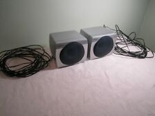 Pair of 2 AIWA Speaker System SX-R290 Silver
