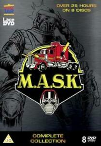 M.A.S.K - THE COMPLETE COLLECTION DVD [UK] NEW DVD