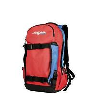 HMK Back Country Red Blue Hydration Compatible Snowboard Snowmobile Backpack
