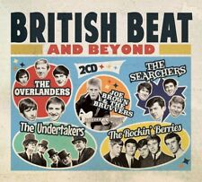 BRITISH BEAT AND BEYOND - THE OVERLANDERS, THE UNDERTAKERS -   2 CD NEW!