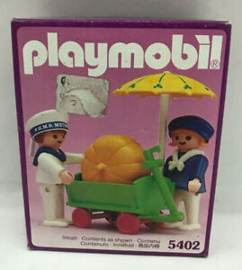 Playmobil 5402 Children With Pumpkin Cart klicky geobra Victorian Kinder SEALED