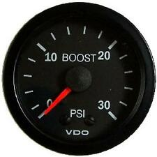 Turbo Boost Gauge 0-30 PSI VDO Vision #150-104  52mm  SUPER LOW PRICE BLOWOUT!!!