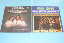 "2 X 45 TOURS BEE GEES ""STAYIN' ALIVE & HOW DEEP IS YOUR LOVE"" POLYDOR / TB ÉTAT"