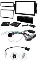 Connects2 Single/Double Din Kit inc amp retention Jeep Grand Cherokee 05-07