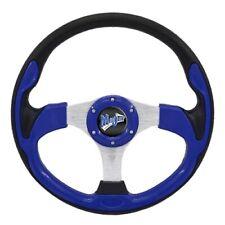 """Madjax 13"""" Blue Ultra Steering Wheel Golf Carts Yamaha EZGO Club Car"""