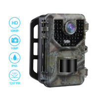 E2 16MP HD 1080P Hunting Trail Camera Night Vision 0.5S Trigger Photo Traps IP66