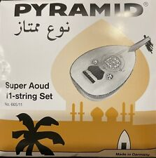 PYRAMID 665/11 Arabic Super-oud 11-string Silver Plated Wound Special