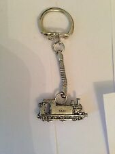 Train PP-T15  made of fine English Pewter on a snake keyring