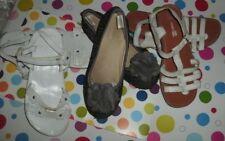 Girls Spring Shoe lot of 3 Size 2 Flats White GYMBOREE Espadrilles Slip on FREE