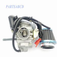 Performance Carburetor W/Filter GY6 150cc Scooter Roketa SUNL Go-Kart GY6 PD24J