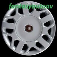 "Fiat Multipla Set 4 Borchie Coppe Ruota Copricerchi Copponi 15""  1258LR"