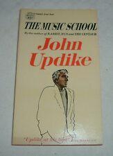 1967 THE MUSIC SCHOOL Short Stories JOHN UPDIKE Alfred Schweigen Fawcett Crest
