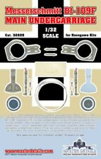 Master Details 1:32 Bf-109 F Main Undercarriage for Hasegawa Multimedia #32029