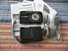 Panasonic LUMIX DMC-S3 14.1MP Digital Camera - Black