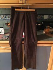 Pantalon Cuir Daim Vintage American Retro