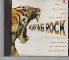 (GA297) Roaring Rock, 8 tracks various artists - 1996 CD