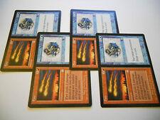 4x MTG Fire/Ice-Fuoco/Ghiaccio Magic EDH APO Apocalisse ING Inglese x4