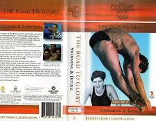 THE OLYMPIC SERIES - Swimming & Diving -VHS -NEW -Never played -Very rare!! -PAL