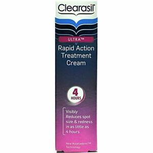 Clearasil Ultra Rapid Action Treatment Cream 25ml blackheads, blocked pores acne