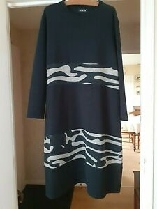 SUPERBE ROBE HIVER DESTRUCTUREE MADE IN ITALY TAILLES 48/50/52