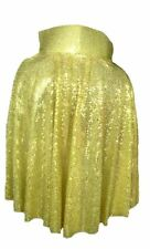 Adult Rock n Roll 50s 60s Gold The King Cape Sequin Fancy Dress UK