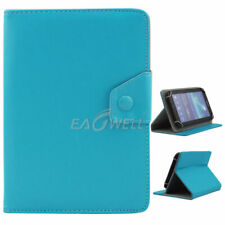 """Universal Adjustable Leather Stand Case Cover For 7"""" 7 In Android Tablet Gift US"""
