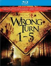 WRONG TURN 1-5 NEW BLU-RAY
