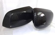 Set Spiegelkappen  Carbon-Optik BMW E 60 / 61 Wassertransferdruck beschichtet