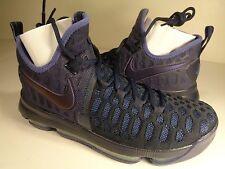 Nike Zoom KD 9 Black Obsidian Dark Purple Dust SZ 11.5 (843392-450)