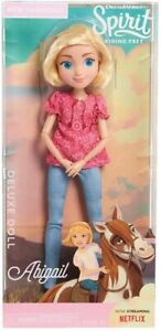 """Dreamworks Spirit Riding Free ABIGAIL Deluxe 11.5""""H Doll NEW FREE SHIPPING"""